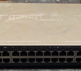 Switch TP-LINK 48*10/100MBS TL-S2452WEB 20/2021/9